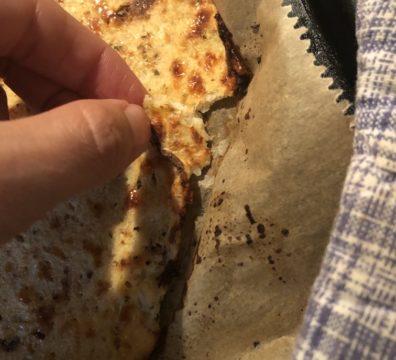 Teig für Blumenkohl-Pizza
