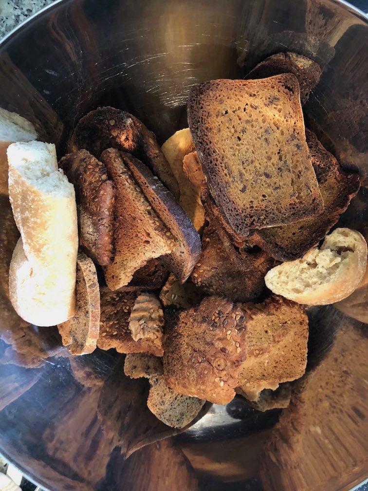 Brot für Kaspress-Knödel