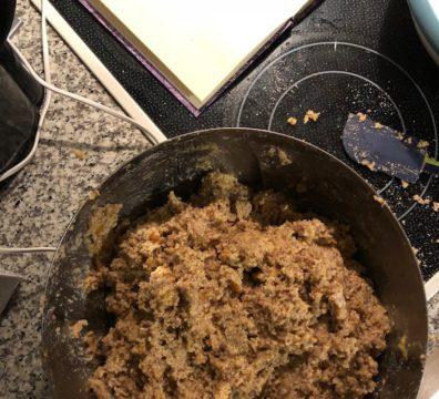 Lebkuchen-Teig