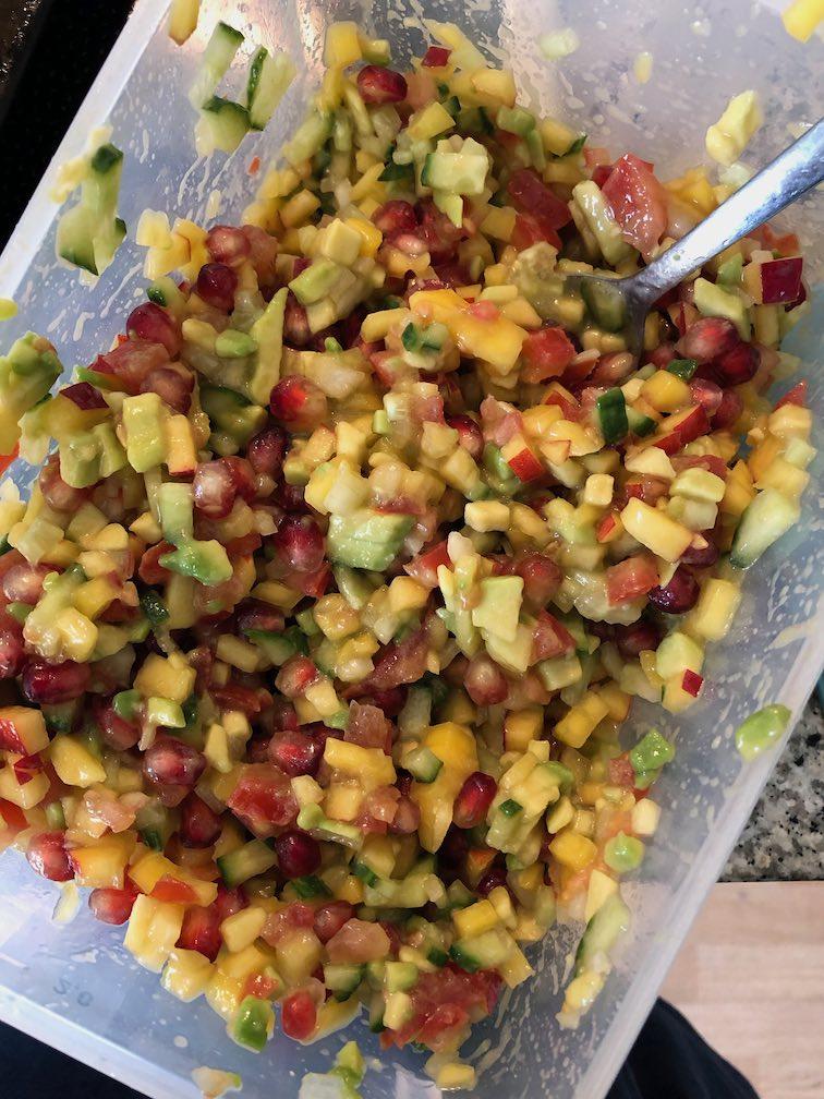 fruchtige Salsa für Tacos