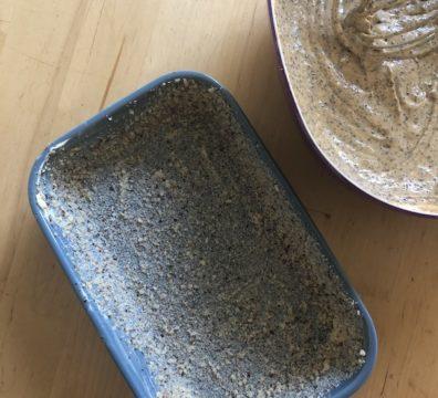 Zitronen-Mohn-Kuchen Form